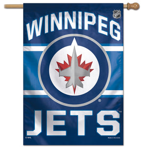 "Winnipeg Jets Vertical Flag 28""x40"""