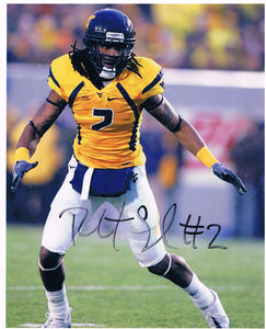 wvu football, robert sands autograph