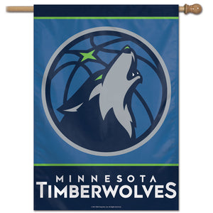 "Minnesota Timberwolves Vertical Flag 28""x40"""