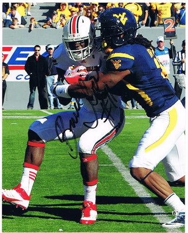 Bruce Irvin West Virginia Mountaineers signed 8x10 Photos