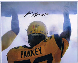 Football memorabilia Adam Pankey WVU signed 8x10 photo from Sports Fanz
