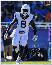 wvu football, karl joseph autograph, oakland raiders