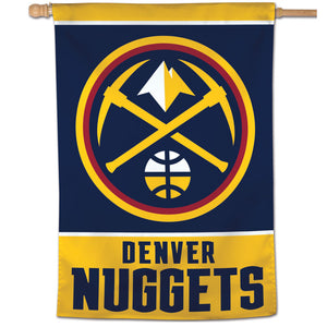 "Denver Nuggets Vertical Flag 28""x40"""