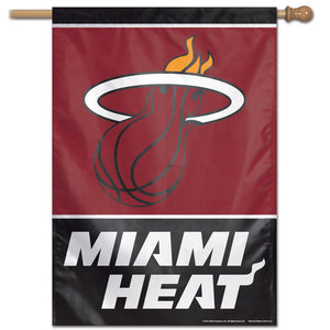 "Miami Heat Vertical Flag 28""x40"""