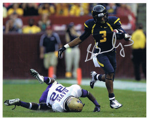 Stedman Bailey West Virginia Mountaineers Signed 8x10 Photos JSA