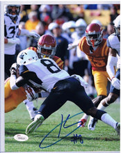 Karl Joseph West Virginia Mountaineers Signed 16x20 Photo JSA