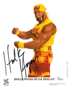 hulk hogan hogan autograph, huk hogan signed photo