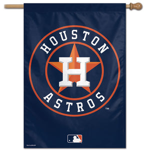 "Houston Astros Vertical Flag - 28""x40"""
