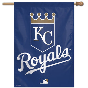 "Kansas City Royals Vertical Flag - 28""x40"""