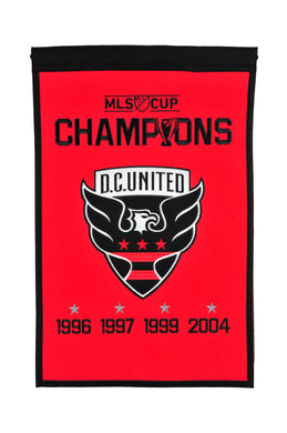 D.C. United MLS Champions Wool Banners - 14