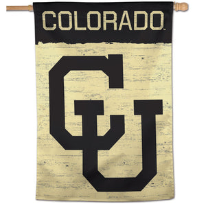 "Colorado Buffaloes College Vault Vertical Flag - 28"" X 40"""