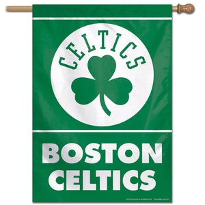 "Boston Celtics Vertical Flag 28""x40"""