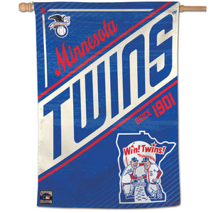 "Minnesota Twins Cooperstown Vertical Flag - 28""x40"""