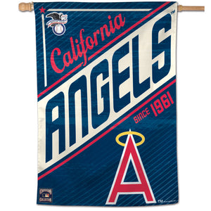 "Los Angeles Angels Cooperstown Vertical Flag - 28""x40"""