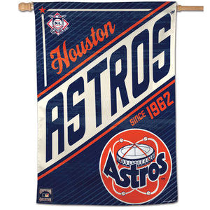 "Houston Astros Cooperstown Vertical Flag - 28""x40"""