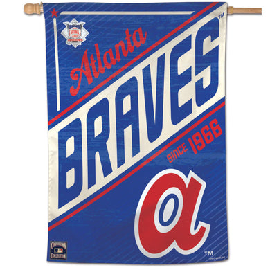 Atlanta Braves Cooperstown Vertical Flag - 28