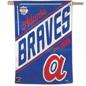 "Atlanta Braves Cooperstown Vertical Flag - 28""x40"""