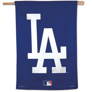 "Los Angeles Dodgers Vertical Flag - 28""x40"""