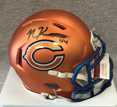 nick kwiatkoski autograph , wvu football, chicago bears