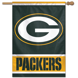 "Green Bay Packers Vertical Flag - 28""x40"" #1"