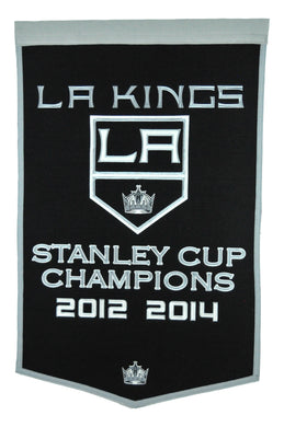Los Angeles Kings Dynasty Champions Wool Banners - 24