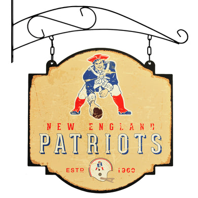 new england patriots, patriots tavern sign