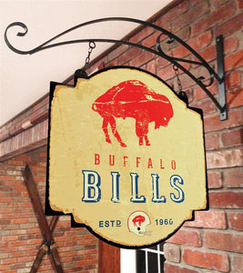 Buffalo Bills Vintage Tavern Sign