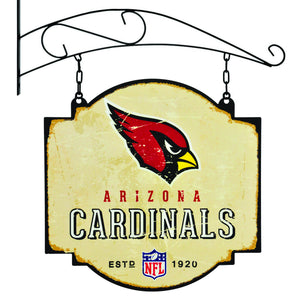arizona cardinals vintage tavern sign