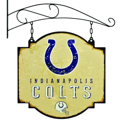 indianapolis colts vintage tavern sign