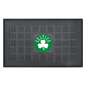 "Boston Celtics Medallion Door Mat 19""x31"""
