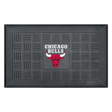 Chicago Bulls Medallion Door Mat 19