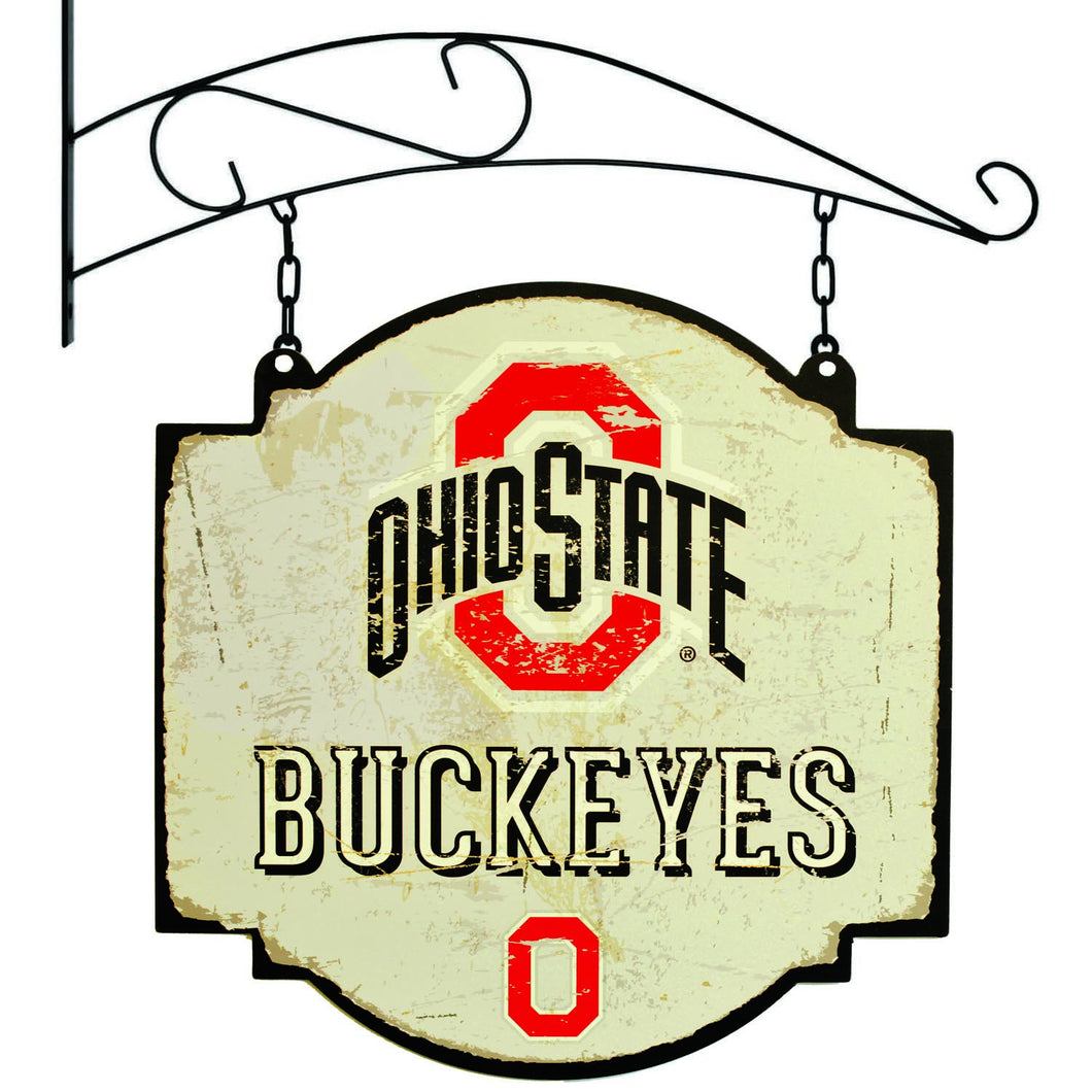 ohio state football, ohio state basketball, ohio state buckeyes tavern sign