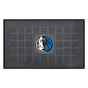 "Dallas Mavericks Medallion Door Mat 19""x31"""
