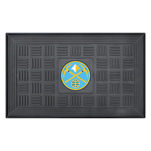 "Denver Nuggets Medallion Door Mat 19""x31"""