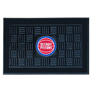 "Detroit Pistons Medallion Door Mat 19""x31"""