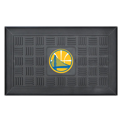 Golden State Warriors Medallion Door Mat 19