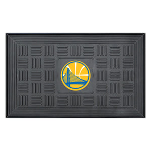 "Golden State Warriors Medallion Door Mat 19""x31"""