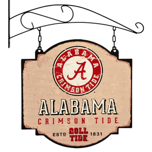 alabama crimson tide football, alabama basketball, alabama tavern sign
