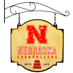 Nebraska cornhuskers football, nebraska basketball, nebraska tavern sign