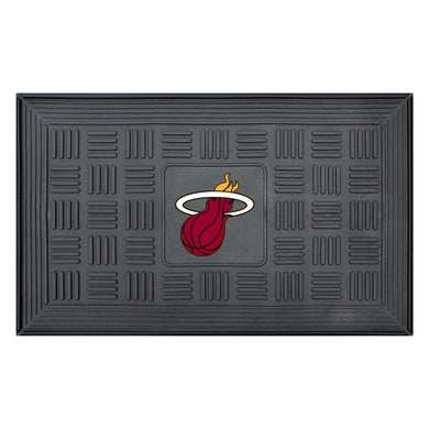 Miami Heat Medallion Door Mat 19