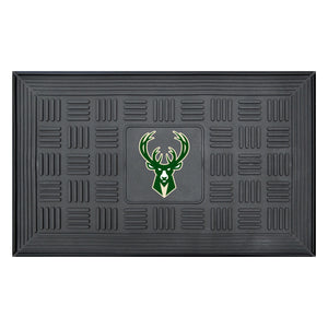 "Milwaukee Bucks Medallion Door Mat 19""x31"""