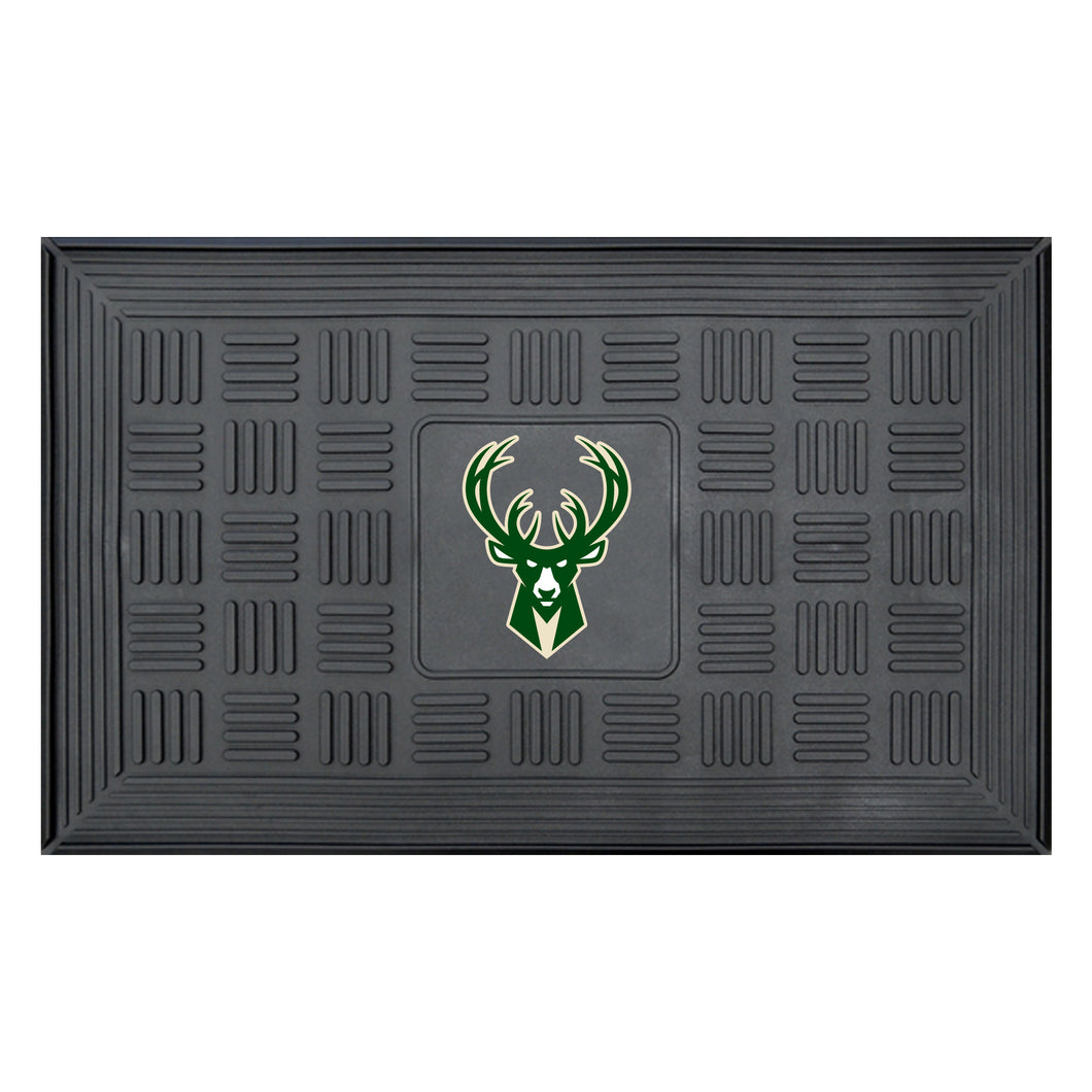 Milwaukee Bucks Medallion Door Mat 19