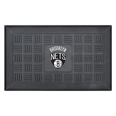 Brooklyn Nets Medallion Door Mat 19