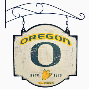 oregon ducks football, oregon ducks tavern sign