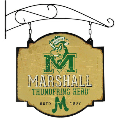 Marshall University Thundering Herd Vintage Tavern Sign