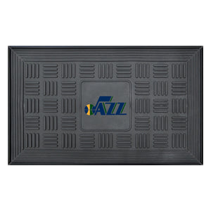 "Utah Jazz Medallion Door Mat 19""x31"""