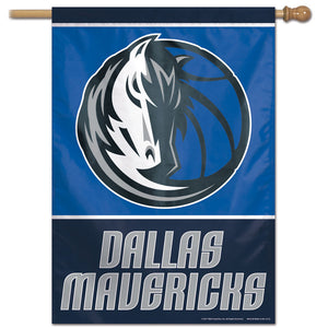 "Dallas Mavericks Vertical Flag 28""x40"""