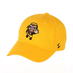West Virginia Mountaineers Gold Mountaineer Emoji Katsu Hat