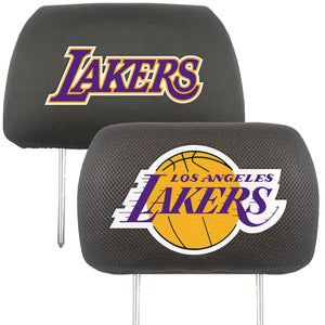 los angeles lakers head rest covers , la lakers head rest covers