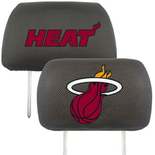 miami heat head rest covers